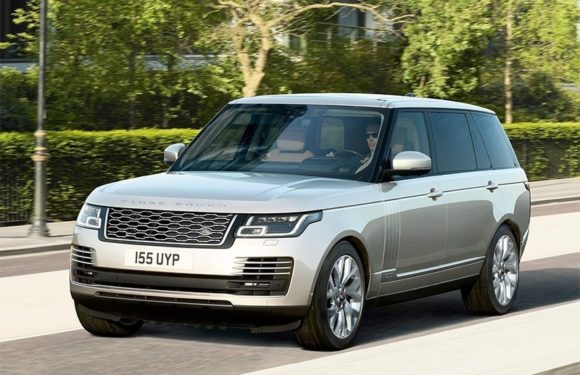 Range Rover модели 2019-го года приехал