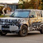 Land Rover Defender представят в следующем году
