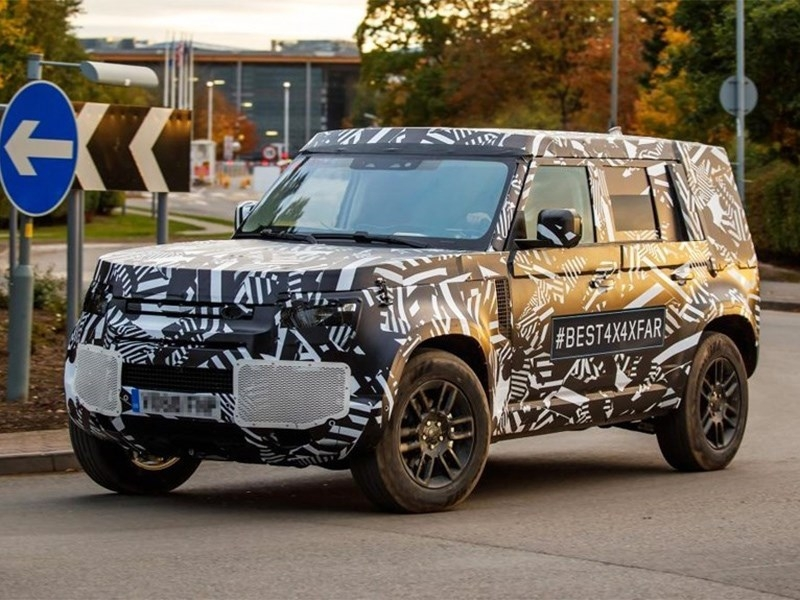 Land Rover Defender представят в последующем году
