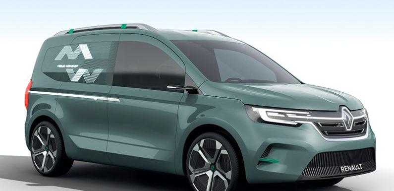Компания Renault показала новый электрический фургон