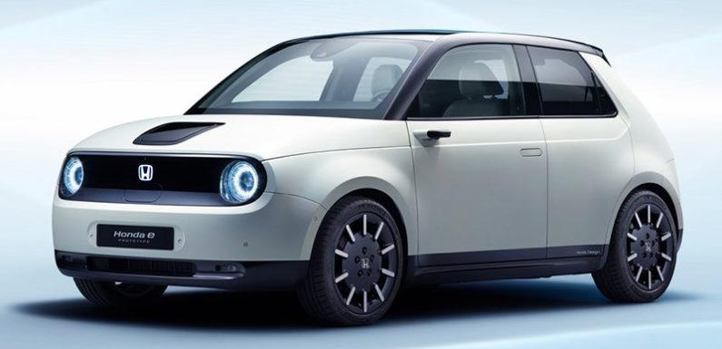 Honda открыла предзаказ на свой электрический хэтчбек