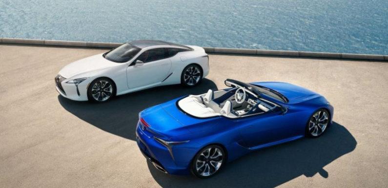 Стали известны цены на кабриолет Lexus LC500
