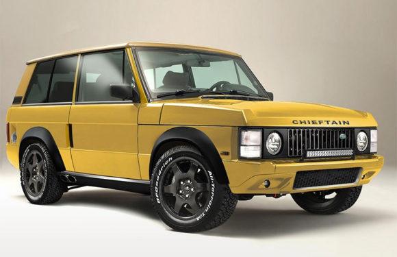 В старый Range Rover вдохнули жизнь